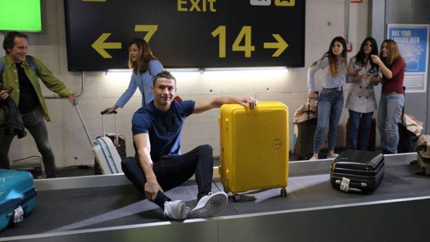Кристијано Роналдо како парче багаж?