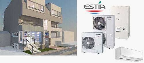 Користење на топлински пумпи и инвертер клима уреди како најекономичен и најеколошки систем